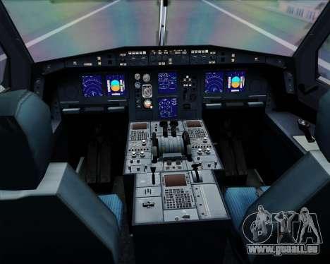 Airbus A340-313 Lufthansa für GTA San Andreas Innen