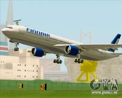 Airbus A330-300 Finnair (Old Livery) pour GTA San Andreas vue de dessous