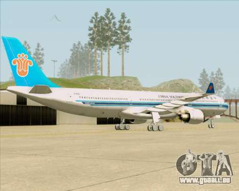 Airbus A330-300 China Southern Airlines für GTA San Andreas rechten Ansicht