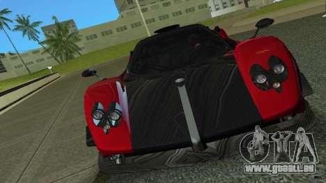 Pagani Zonda Cinque für GTA Vice City linke Ansicht