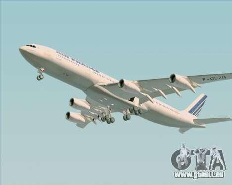 Airbus A340-313 Air France (Old Livery) für GTA San Andreas Seitenansicht