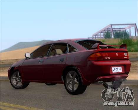 Mazda 323F 1995 pour GTA San Andreas vue de droite