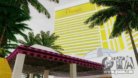 Neue Texturen casino Visage in Las Venturas für GTA San Andreas sechsten Screenshot
