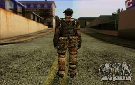 Soldaten MEK (Battlefield 2) Haut 5 für GTA San Andreas zweiten Screenshot