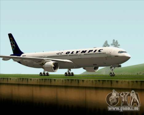 Airbus A330-300 Olympic Airlines für GTA San Andreas linke Ansicht