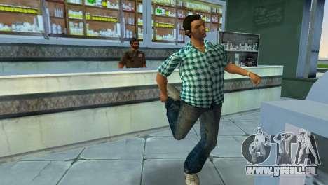 Kockas polo - vilagoskek T-Shirt für GTA Vice City dritte Screenshot