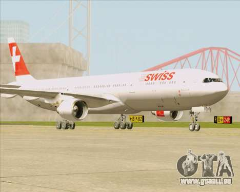 Airbus A330-300 Swiss International Air Lines für GTA San Andreas linke Ansicht