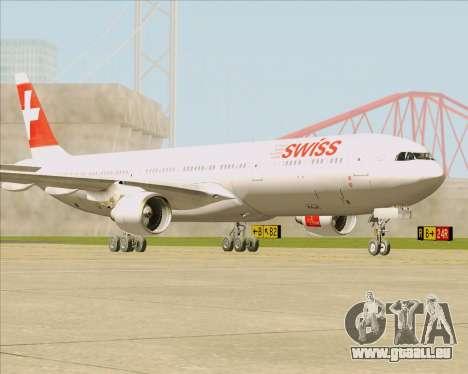 Airbus A330-300 Swiss International Air Lines pour GTA San Andreas laissé vue