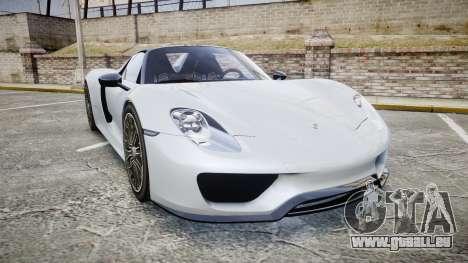 Porsche 918 Spyder 2015 für GTA 4