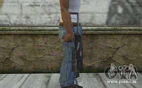 PP-19 Bizon (Battlefield 2) für GTA San Andreas dritten Screenshot