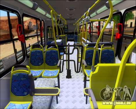 Marcopolo Torino 2007 - Volksbus 17-230 EOD pour GTA San Andreas vue arrière