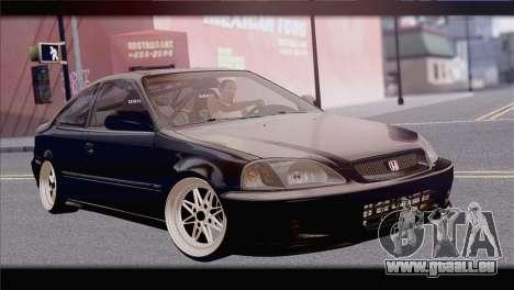 Honda Civic EM1 pour GTA San Andreas