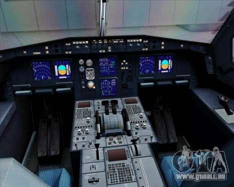 Airbus A330-300 Qantas für GTA San Andreas Innen
