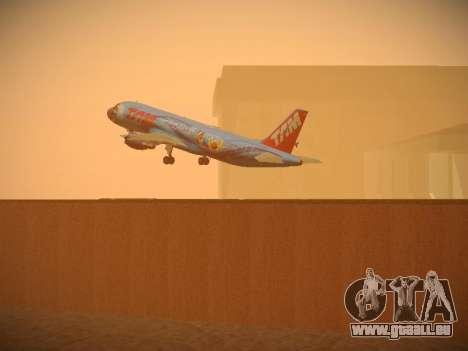 Airbus A320-214 TAM Airlines RIO pour GTA San Andreas salon