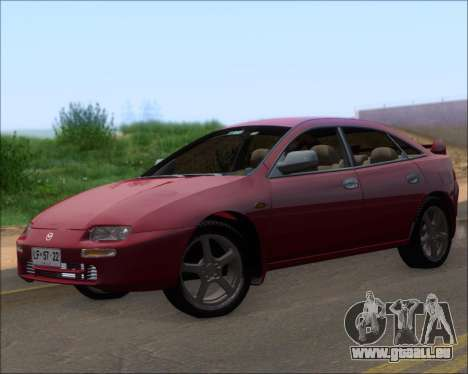 Mazda 323F 1995 pour GTA San Andreas laissé vue