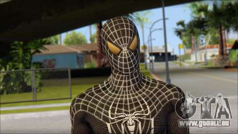 Standart Black Spider Man für GTA San Andreas dritten Screenshot