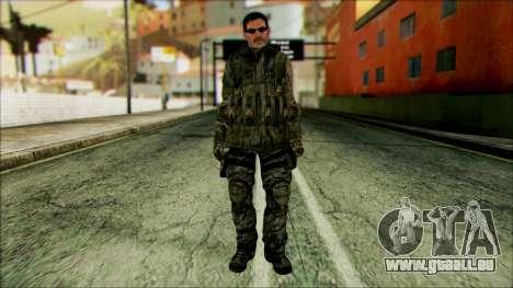 Kämpfer (PLA) v2 für GTA San Andreas