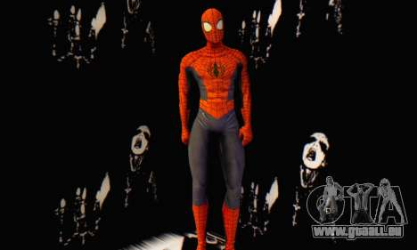 Skin The Amazing Spider Man 2 - Suit Edge Of Tim pour GTA San Andreas troisième écran