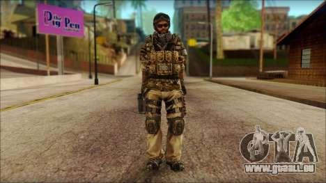 Vétéran (M) v1 pour GTA San Andreas