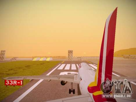 Airbus A319-132 Germanwings pour GTA San Andreas moteur