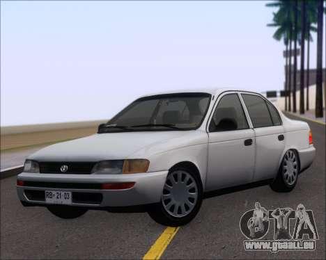 Toyota Corolla 1.6 für GTA San Andreas