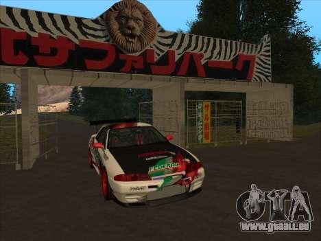 Nissan Skyline R32 Badass pour GTA San Andreas laissé vue