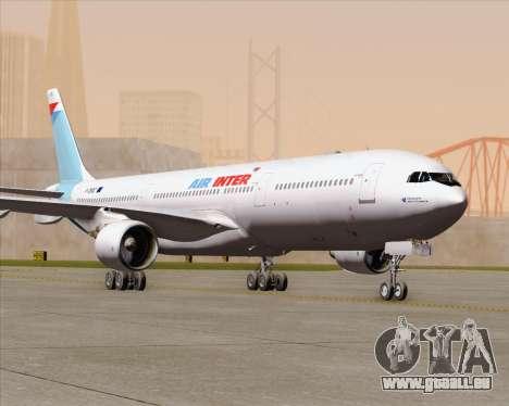 Airbus A330-300 Air Inter für GTA San Andreas obere Ansicht