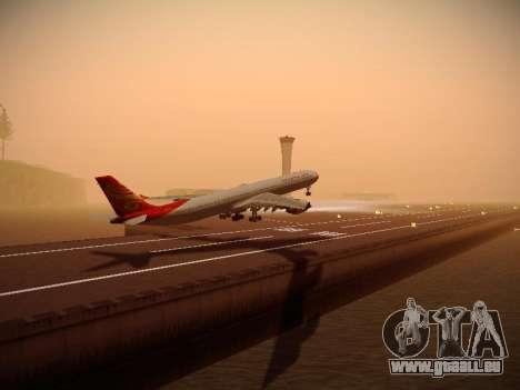 Airbus A340-600 Hainan Airlines für GTA San Andreas rechten Ansicht