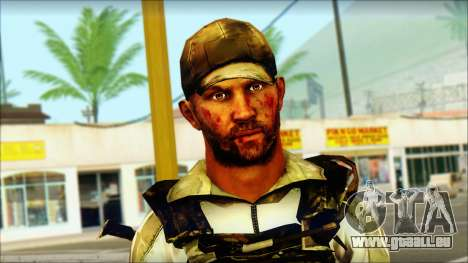 Taliban Resurrection Skin from COD 5 für GTA San Andreas dritten Screenshot
