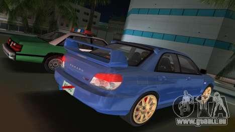 Subaru Impreza WRX STI 2006 Type 1 für GTA Vice City linke Ansicht