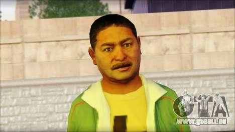 GTA 5 Ped 11 pour GTA San Andreas troisième écran