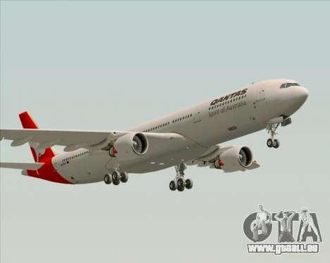 Airbus A330-300 Qantas pour GTA San Andreas vue de côté