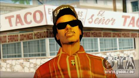 Eazy-E Red Skin v1 pour GTA San Andreas troisième écran