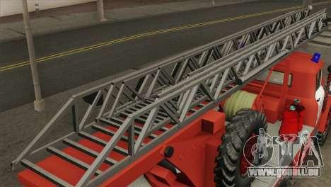 ZIL 131 - AL pour GTA San Andreas sur la vue arrière gauche