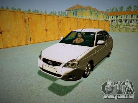 Lada Priora Coupe pour GTA San Andreas laissé vue