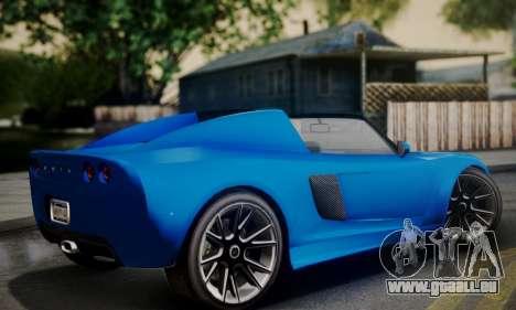 Voltic from GTA 5 pour GTA San Andreas laissé vue