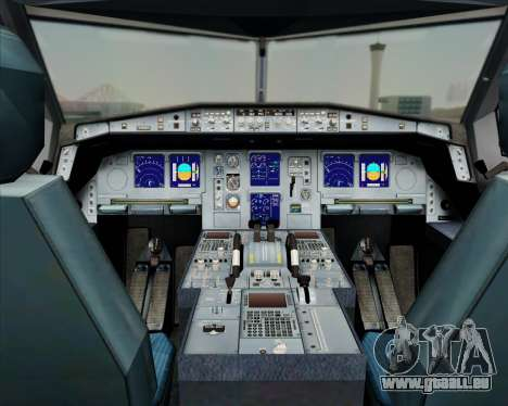 Airbus A330-300 China Southern Airlines für GTA San Andreas Innen