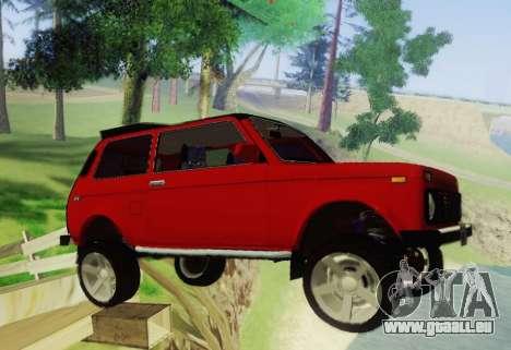 LADA-212180 Fora für GTA San Andreas Rückansicht