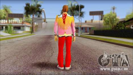 Marty from Back to the Future 1885 pour GTA San Andreas deuxième écran