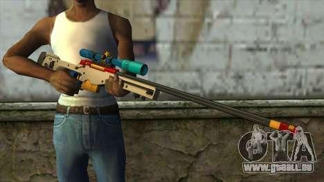Sniper Rifle from PointBlank v4 für GTA San Andreas dritten Screenshot