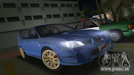 Subaru Impreza WRX STI 2006 Type 1 für GTA Vice City