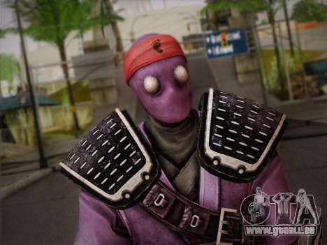 Foot Soldier Elite v2 für GTA San Andreas dritten Screenshot
