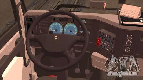 Renault Premium 420 für GTA San Andreas zurück linke Ansicht
