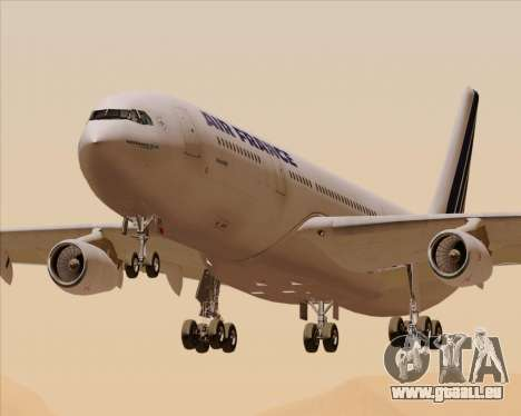 Airbus A340-313 Air France (Old Livery) pour GTA San Andreas