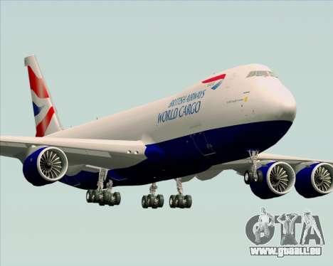 Boeing 747-8 Cargo British Airways World Cargo pour GTA San Andreas