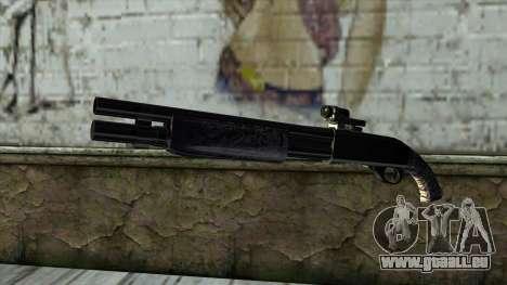 PurpleX Shotgun pour GTA San Andreas