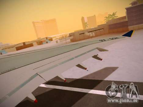 Airbus A340-600 Singapore Airlines pour GTA San Andreas roue
