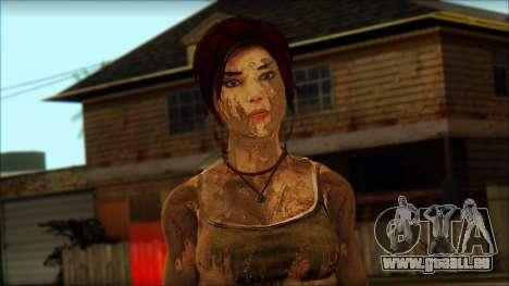Tomb Raider Skin 10 2013 für GTA San Andreas dritten Screenshot