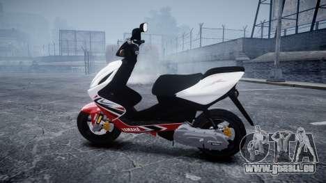 Yamaha Aerox R pour GTA 4 est une gauche