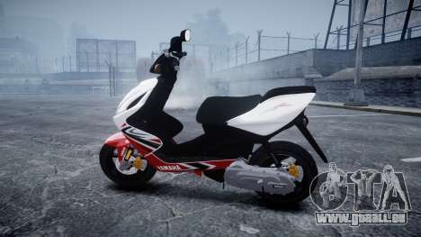 Yamaha Aerox R für GTA 4 linke Ansicht